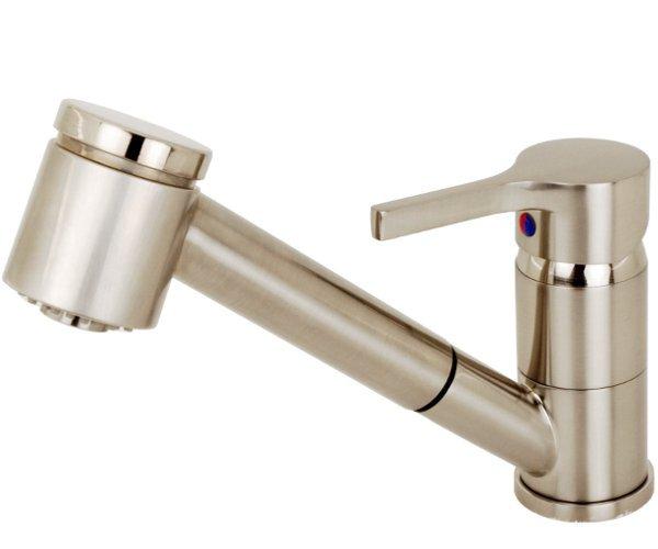 bware edelstahl küchenarmatur spültisch armatur brause  ~ Wasserhahn Rückflussverhinderer